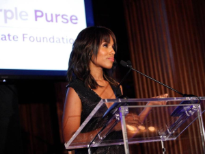 Kerry Washington, Purple Purse Challenge
