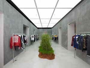 The Off-White store in Singapore.