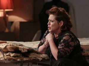 Soprano Jennifer Black suffers along with the audience at On Site Opera.