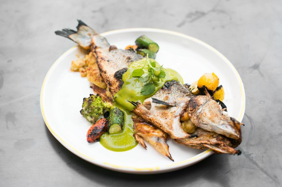 Ricardo Zarate Brings the Fire at LA's Rosaliné