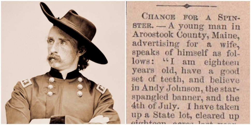 You Could Learn a Lot From This Incredible 1865 Dating Profile