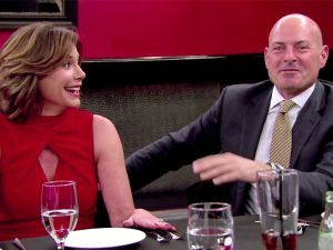 Countess Luann with Tom D'Agostino Jr. in Real Housewives of NYC.