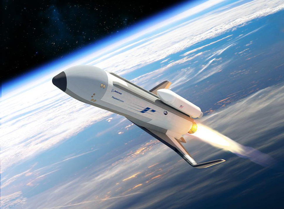 Science Fiction Meets Reality With DARPA Experimental Spaceplane