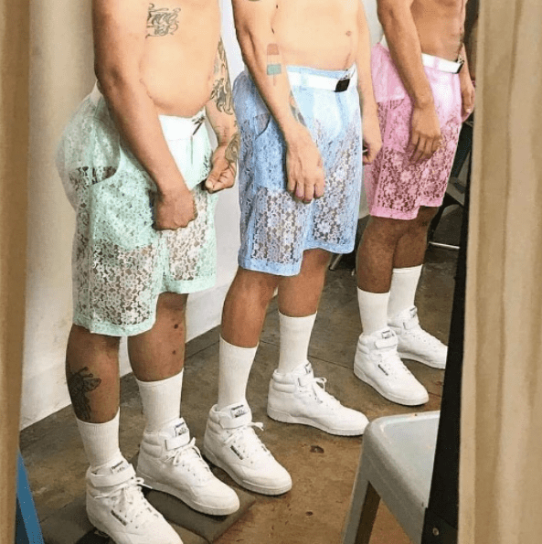 Lace Shorts for Men Are Here and They Must Be Stopped