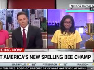 Ananya Vinay on CNN.