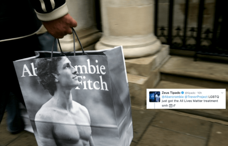 Abercrombie & Fitch Just Made Pride About Straight People—And Everyone Is Furious