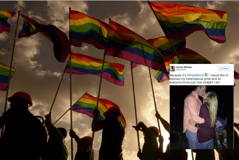 This Guy's 'Heterosexual Pride' Tweets Are Earning Him Serious Hate Online