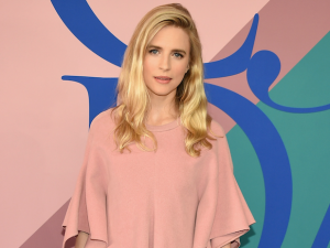 Brit Marling in a Sies Marjan creation at the CFDA Awards.