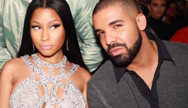 Nicki Minaj and Drake.