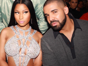 Nicki Minaj and Drake.