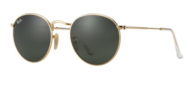 Ray-Ban Round Metal Sunglasses, $150, Ray-ban.com.