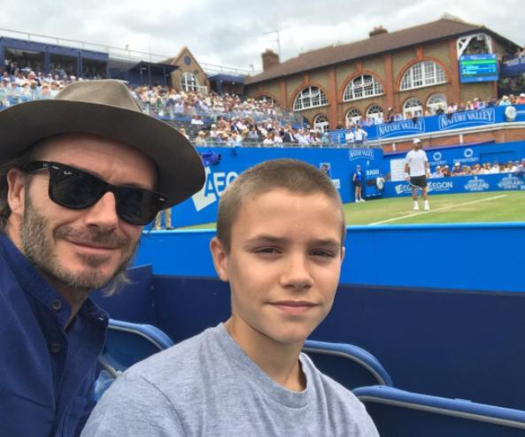 The Best Instagrams This Week: David Beckham, Roger Federer and Emma Watson