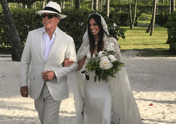 Of Course Tommy Hilfiger Designed His Daughter's Wedding Dress