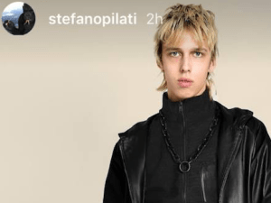 A genderless look from Stefano Pilati's forthcoming collection.