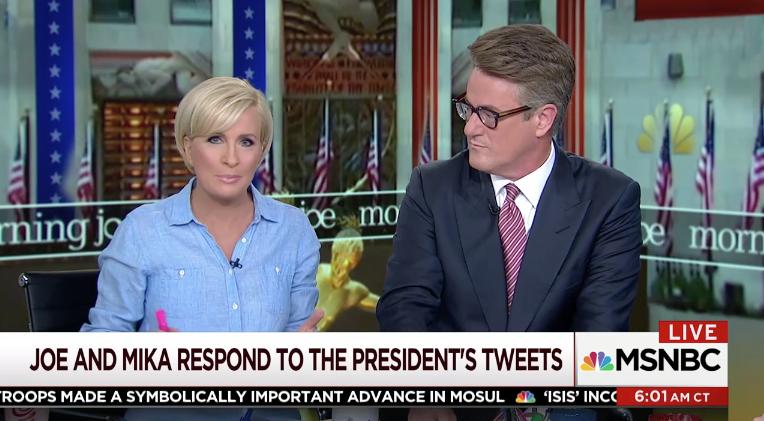 Mika Brzezinski Responds to Trump Tweets: 'Fascinating and Frightening'