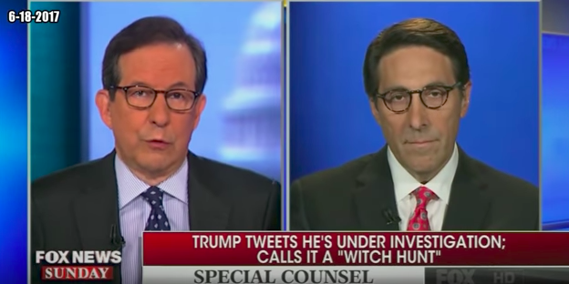 Trump's Lawyer Stumps Sunday Hosts Saying President Is and Isn't Under Investigation