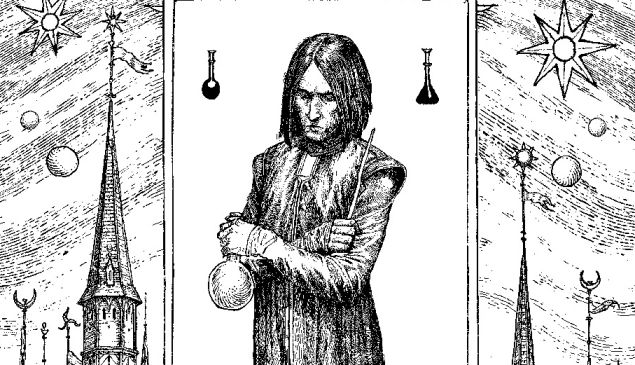 Snape by Levi Pinfold.