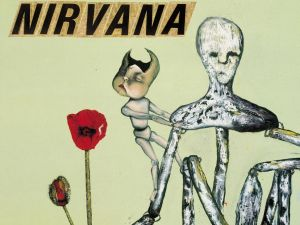 A painting by Cobain used for the album art on Nirvana's 1992 b-side collection Incesticide, will be shown at the Seattle Art Fair August 3-6.