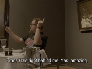 Stefan Kasper having dinner with Frans Hals.