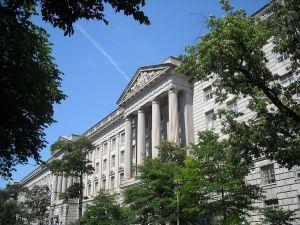 Herbert C. Hoover Building, home of the U.S. Department of Commerce, in Washington, D.C.