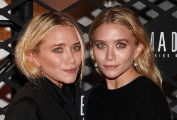 Mary-Kate and Ashley Olsen Did Not Wear Hideous Bridesmaids Dresses