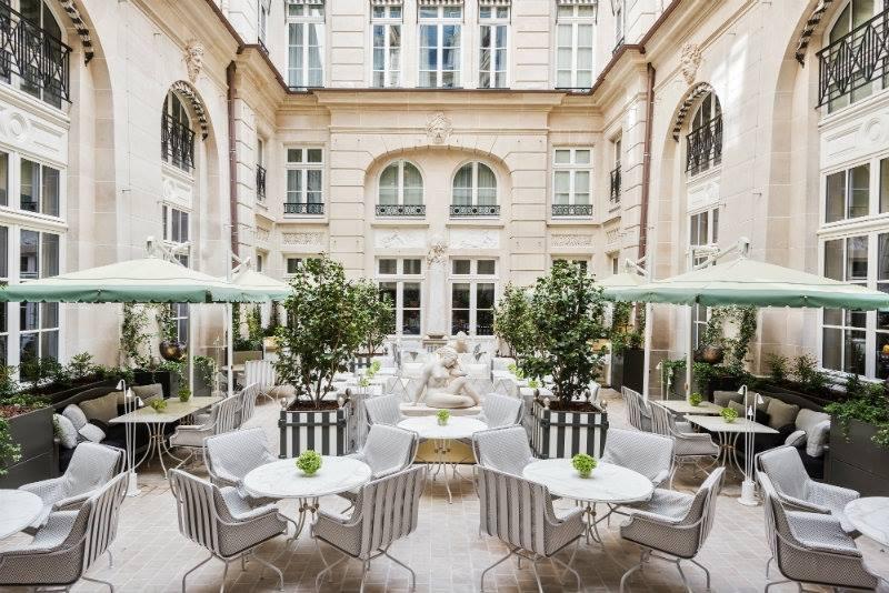 The Most Opulent Details of the Newly Renovated Hôtel de Crillon in Paris