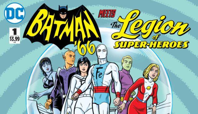 Batman '66 Meets the Legion of Superheroes.