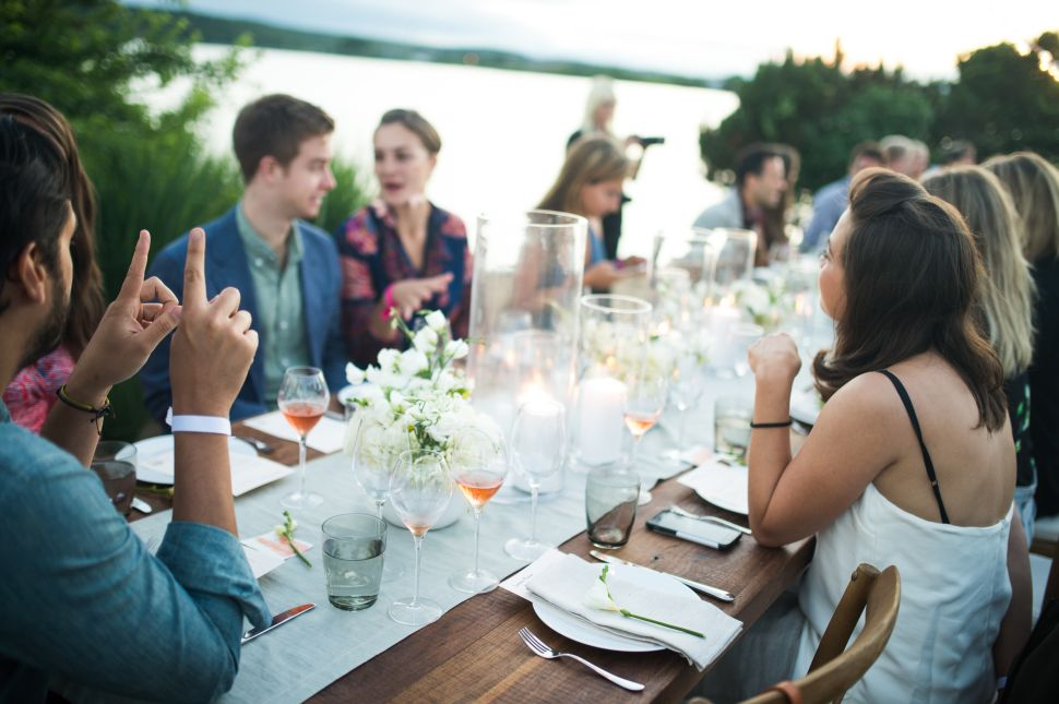This Hamptons Dinner Series Is Elevating the Reputation of Rosé