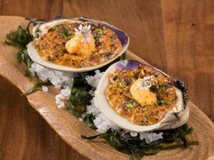 Chinatown clams casino is one of Brian Howard's original creations.