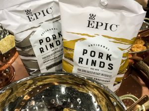 Epic Pork Rinds at the Fancy Food Show.
