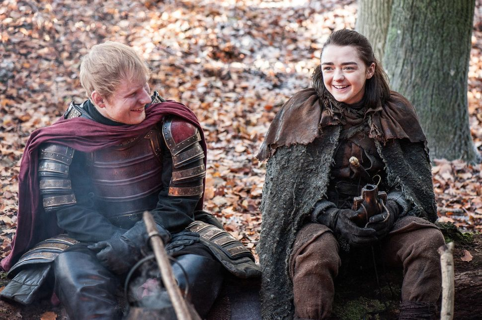 In Honor of Ed Sheeran's 'Game Of Thrones' Cameo, the Top 5 Worst Bro-Sex Songs