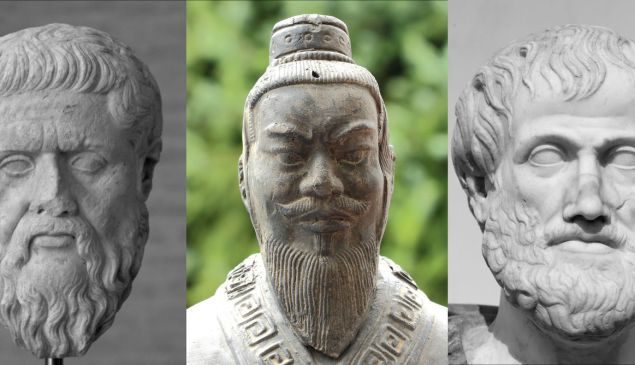 Plato, Confucius and Aristotle. Ancient Greek philosophy is widely taught in American universities, but classes in Chinese philosophy are few and far between.
