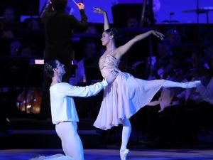 Misty Copeland and Marcel Gomes.