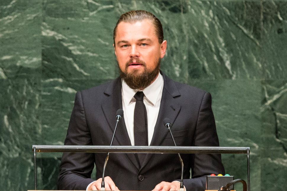 Leonardo DiCaprio Invites You to Buy Art in St. Tropez to Save the World