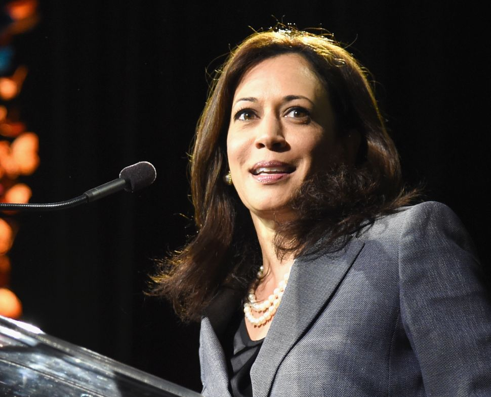 They Named Her Kamala: Clinton Staff, Donors Anoint 2020 Candidate