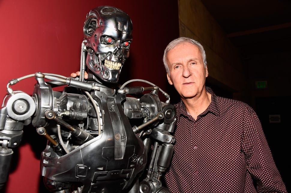 Because There Are No More Good Ideas, James Cameron Angling for 'Terminator' Trilogy