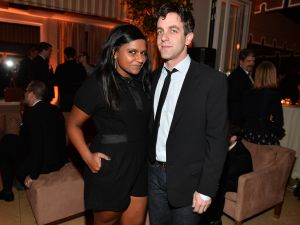 Mindy Kaling and B.J. Novak in 2014.