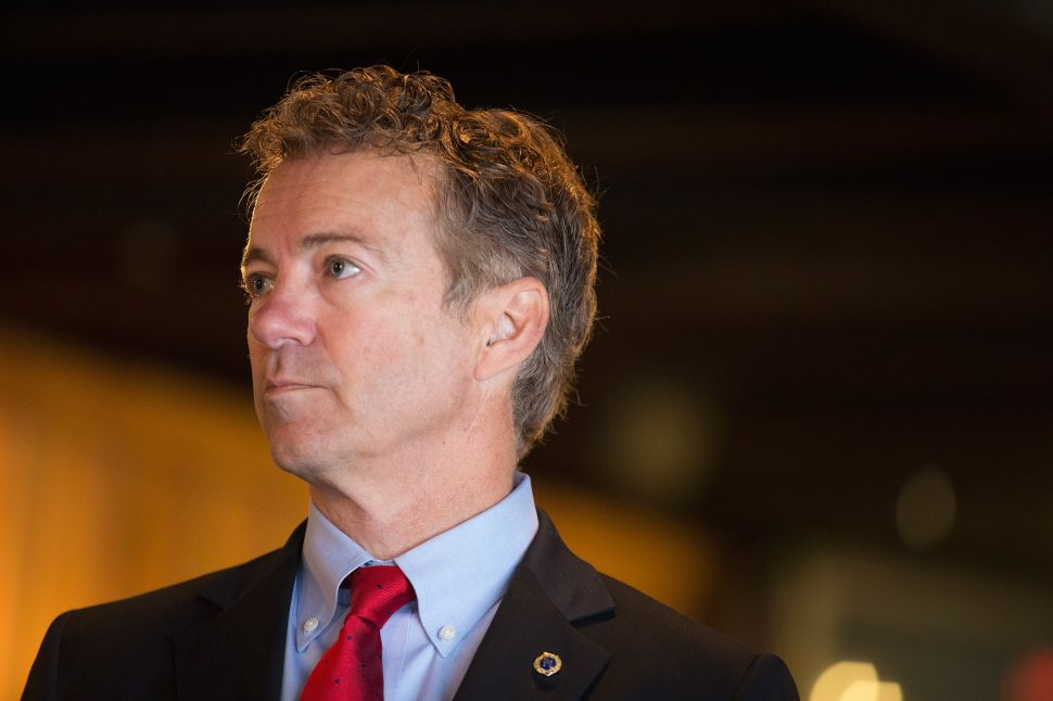 Rand Paul on Obamacare-lite Bill: It's a Bailout for Insurance Companies