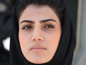 Afghanistan's first female pilot, Niloofar Rahmani.