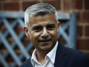 Mayor of London Sadiq Khan.