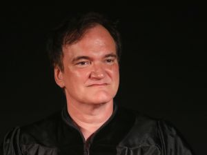 Quentin Tarantino attends the 2016 AFI Conservatory commencement ceremony.