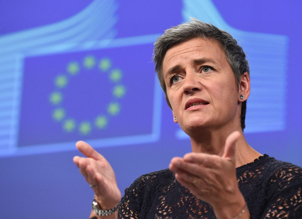 EU's Antitrust 'War' on Google and Facebook Uses Abandoned American Playbook