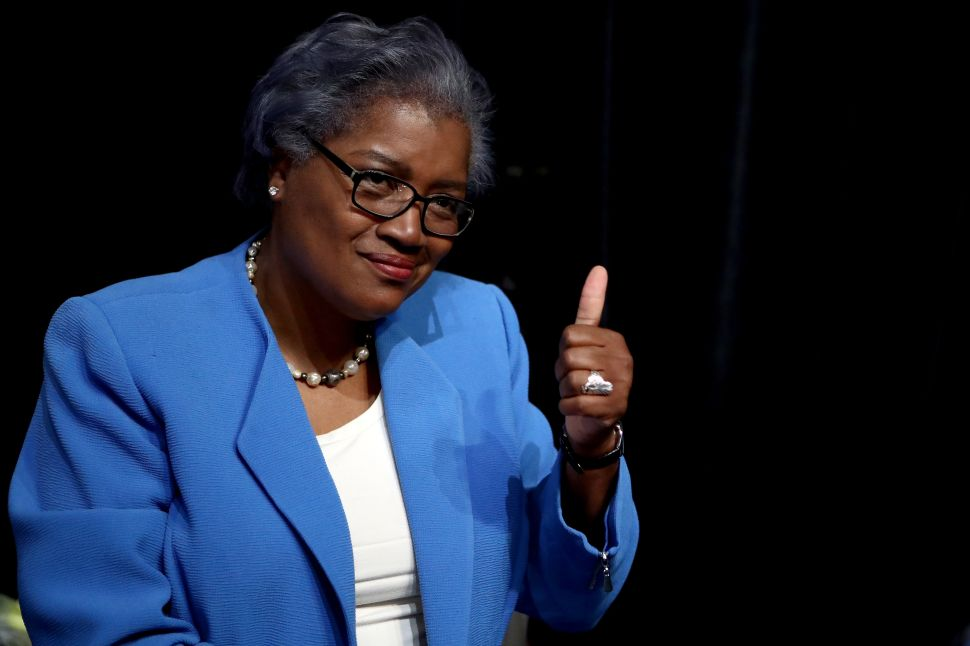 Harvard Rewards Disgraced Former DNC Interim Chair Donna Brazile