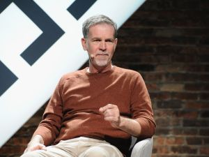 Netflix CEO and co-founder Reed Hastings at The New Yorker TechFest in October.