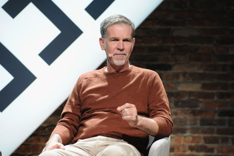 Netflix CEO Reed Hastings Just Made $400 Million in Two Weeks