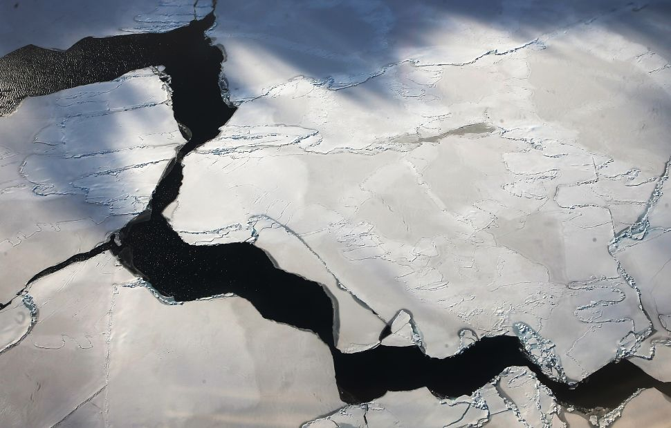 Another Large Ice Crack Is Forming in Antarctica
