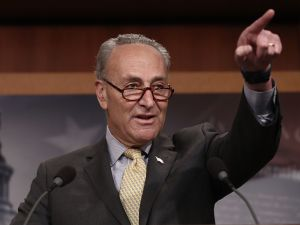Senate Minority Leader Charles Schumer.