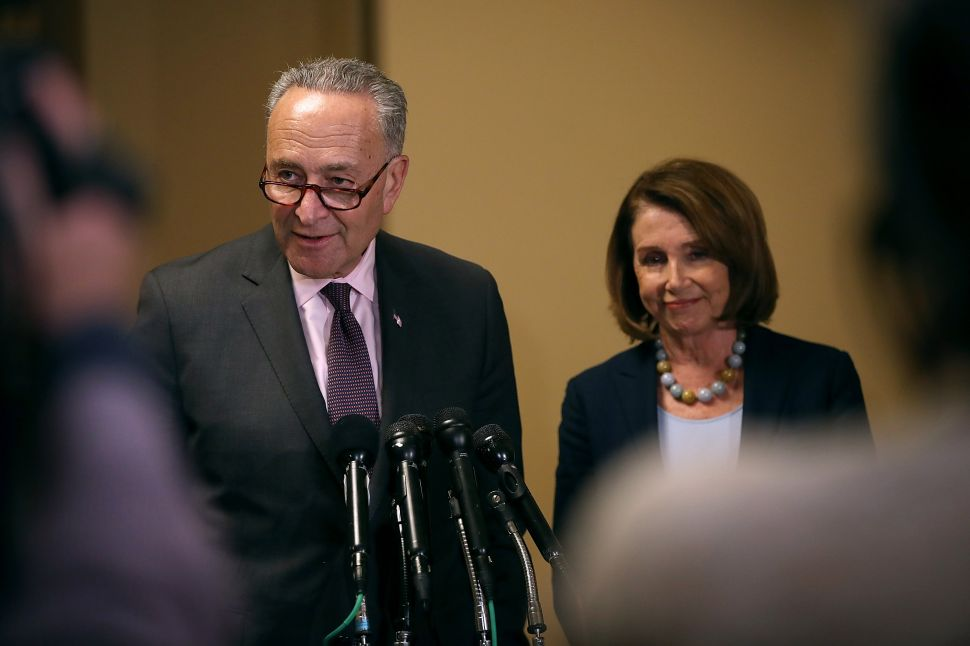 Democrats Have No Message Because Pelosi and Schumer Never Needed One