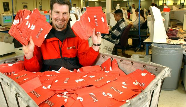 Netflix co-founder Reed Hastings in 2002.