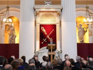 Bank of England Governor Mark Carney delivers his re-scheduled speech to the Bankers and Merchants of the City of London, during a breakfast event at The Mansion House in London on June 20, 2017. Carney and Britain's Chancellor of the Exchequer Philip Hammond were due to speak at the annual Lord Mayor's Dinner to the Bankers and Merchants of the City of London on June 15, but postponed the speeches following the Grenfell Tower block fire in west London, in which seventy-nine people are dead or missing and presumed dead. / AFP PHOTO / Paul ELLIS (Photo credit should read PAUL ELLIS/AFP/Getty Images)